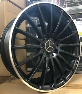 19 Wheels Fit Mercedes C63 C250 C300 C350 Cla E350 Glk Cls55 Sl55 With Tires