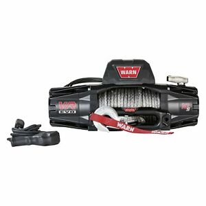 Warn Vr Evo 10 S Electric Winch With 90 Synthetic Rope 10000lbs 103253