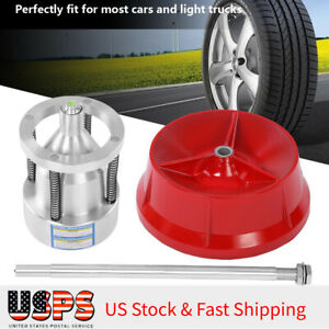 Car Portable Hubs Wheel Balancer W Bubble Level Heavy Duty Rim Tire Cars Truck