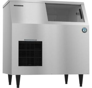 Hoshizaki F 500baj Ice Maker Air cooled Self Contained Built In Storage Bin