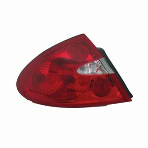 Tail Light Assembly Lh Drive For 05 09 Buick Lacrosse 11 6136 00 1 Tyc