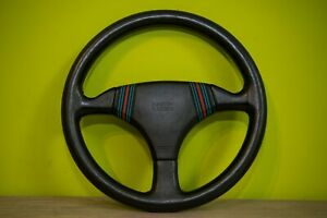 Momo Martini Racing Steering Wheel Old Vintage 1980s Porsche Lancia Ultra Rare