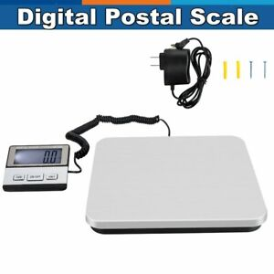 Heavy Duty 440lbs X 0 1lb Usps Digital Shipping Postal Scale 200kg With Adapter