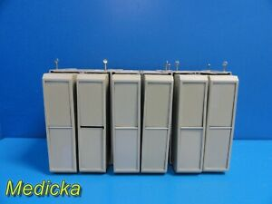 6x Spacelabs 90431 Patient Monitoring Module Rack W Housing Assembly 19718