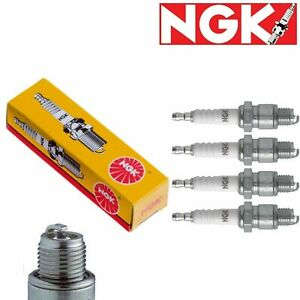 4 Pc Ngk Standard Plug Spark Plugs 2411 B8es 2411 B8es Tune Up Kit Set
