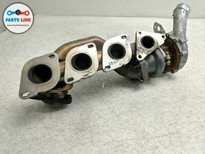 Left Driver Turbo Charger Manifold 12k For 2015 2018 Mercedes Cls63 S Amg W218