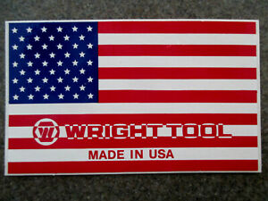 Wright Tool Vintage Oem Nos Made In Usa Decals lot Of 6 For 36 00