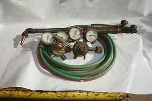Victor Oxy Acetylene C88 22 Cutting Torch Heavy Duty With Regulators