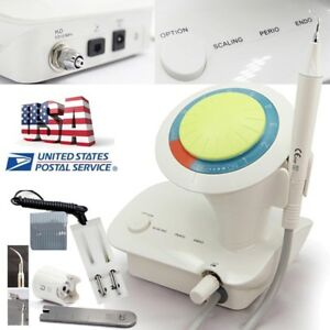P6 Dental Ultrasonic Scaler Scaling Perio Endo Teeth Cleaning usa Stock