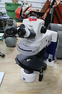 Carl Zeiss Axio Imager Ax10 Imager A1m Microscope W 10x 23 Eye Pieces