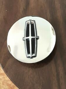Genuine Factory Oem Lincoln Wheel Center Hub Cap Chrome 8a53 1a096 Ad 2 5 8 Tab