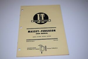I T Manual Massey ferguson Mf205 Mf210 Mf220 Tractor Manual