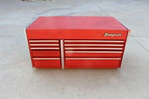 Snap On Kr 12 Top Chest 4 Drawers Tool Box Rare Dealer S Award Box Original