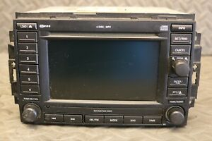 Dodge Chrysler Jeep Cd Dvd Gps Navigation Navi Stereo Radio Rec 05064184af