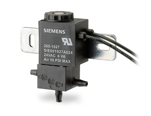 Siemens 265 1027 Solenoid Air Valve 24vac 3 Way Open Frame Electro pneumatic
