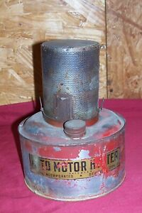 Antique Bunsen Auto Motor Heater Old Ford Model A T Automobile Car Engine Block