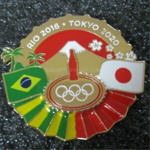 2016 Rio To Japan 2020 Olympic Coca Cola Pin