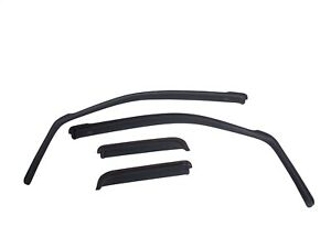 Egr In Channel Window Deflectors Front And Rear Set Smoke For Tundra 575191