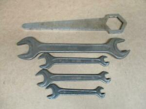 Porsche 356 Din 895 Gedore Tool Kit Wrenches Pulley Wrench