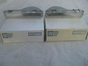 Nos Chevy Caprice 1986 1987 1988 1989 1990 Front Turn Signal Light Lamp Set