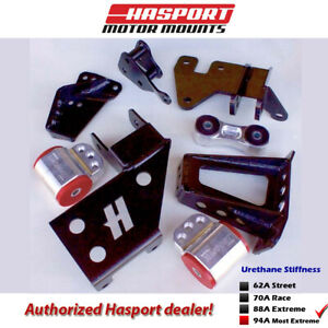 Hasport Eg dc K series Lean Mount Kit 92 01 For Civic Integra Egklean2 94a