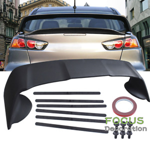 For 08 15 Mitsubishi Lancer Only X Original EVO 10 Rear Trunk Spoiler Wing ABS $91.18
