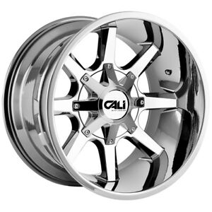 4 Cali Off Road 9100 Busted 20x9 5x5 5 5x150 18mm Pvd Wheels Rims 20 Inch