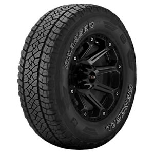 265 70r16 General Grabber Apt 112t B 4 Ply White Letter Tire