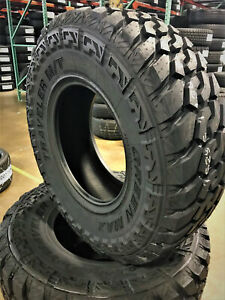 2 New Green Max Traveler M t Lt 265 75r16 Load E 10 Ply Mt Mud Tires
