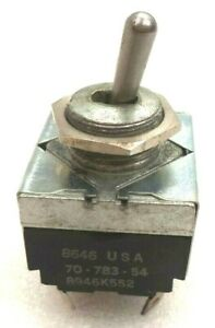 Cole Hersee Heavy Duty 3 position Hesitation Toggle Switch P n 70 783 54