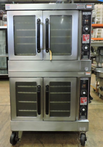 Double Stack Gas Convection Bakery Oven Wolf Wkg Commercial Bake Nsf
