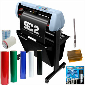 Uscutter Vinyl Cutter Sign Shop Starter Pack 34 Sc2 Oracal 651 Tape Tools