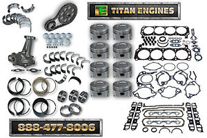 Gm Fits Chevy 262 4 3l V6 Vin Z 1986 1992 Engine Rebuild Kit