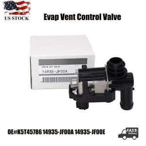 Oem Nissan Vapor Canister Purge Solenoid 14935 Jf00a Evap Vent Control Valve New