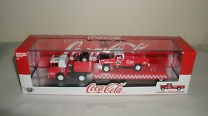 m2 machines coca cola 1970 ford c-600 with 1970 ford f-100 custom 4x4.RC01