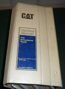 Cat Caterpillar 740 Articulated Truck Service Shop Repair Manual S n B1p1 up
