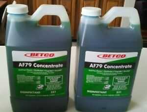 two Betco Fastdraw Af79 2concentrate Bathroom Cleaner 33147 00 2 2 L