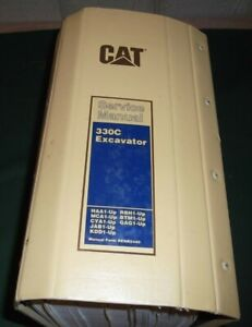 Cat Caterpillar 330c Excavator Service Shop Repair Manual Sn Haa Mca Cya Jab Kdd
