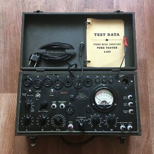 Vintage Military Dynamic Mutual Conductance Tube Tester I 177