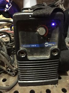 Miller Maxstar 150 S Welder With Leads And 110v Connector