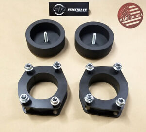 Sr Front 2 5 Rear 2 Leveling Lift Spacer Kit For 05 10 Grand Cherokee Wk