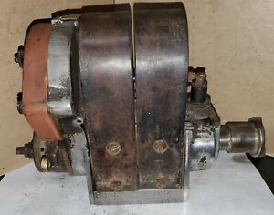 Old American Bosch Du4 Ed 18 4 Cyl Tractor Magneto Car Truck Hit Miss Engine