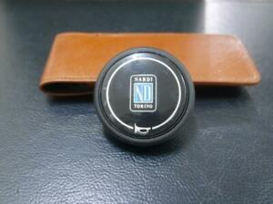 Nardi Steering Wheel Horn Button Black Single Contact Nardi Nd Torino Logo B45