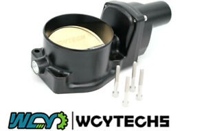 Dbw 102mm Throttle Body 12570790silver Blade For Ls2 Corvette Z06 Gto Cts G8