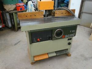 Scmi 1 1 4 Spindle T130 3 Phase Spindle Shaper pick Up Only 18405
