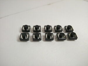 10x Pack Lot 12 X 12 X 7 Mm Push Tact Tactile Momentary Micro Button Switch Dip