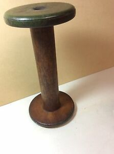 Large Vintage Sewing Spool Wood Excellent Condition