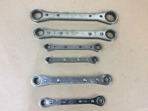 Snap On 12pt And 6pt Ratcheting Box Wrenches Metric And Sae Set Of 6 Mixed