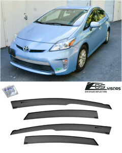 Eos For 10 15 Toyota Prius Jdm Mugen Style Side Vents Window Visors Deflectors