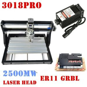 3018pro Cnc Diy Laser Engraver Pcb Wood Milling Machine Router With Grbl Control